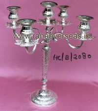 SilverPlatedCandleStand2080
