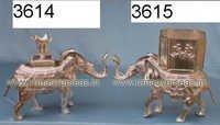 SilverPlatedCandleStand3614-3615