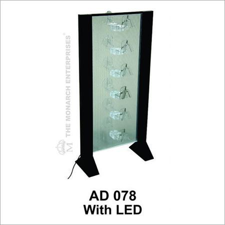 Acrylic Eye Wear Display Stand With LED