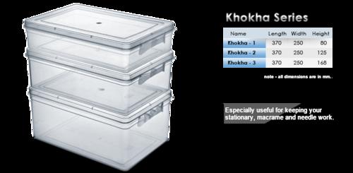 Jumbo storage container - Khokha series