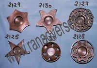 BrassTlightCandleStand2125-2127-2130