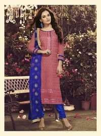 Beautiful New Chanderi Unstitched Salwar Kameez