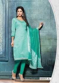 Beautiful Light Green Unstitched Salwar Kameez
