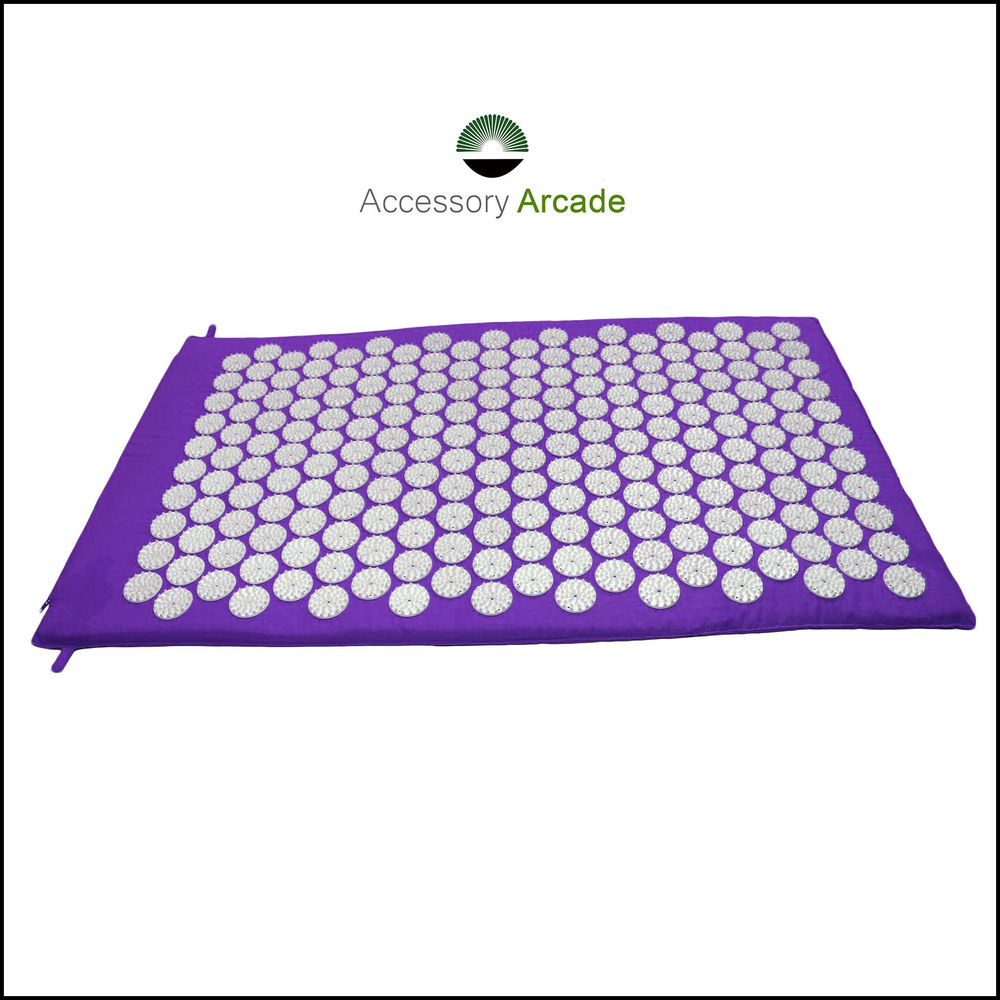 Acupressure Mat (Purple-White)