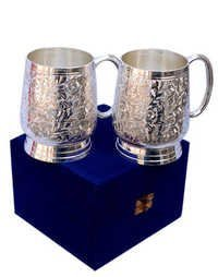 Silver plated bear Mug 7