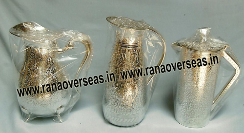 Silver Plated Jug