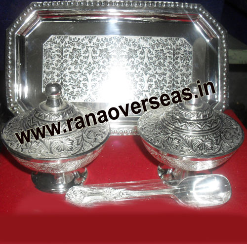 silver Plated Supari Set1