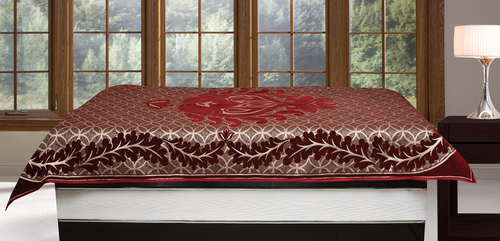 Attractive Elegant Single Diwan Bed Sheet