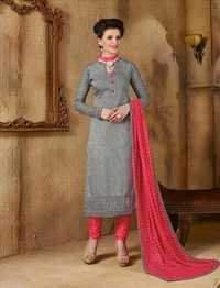 Grey New Banglori Silk Salwar Kameez