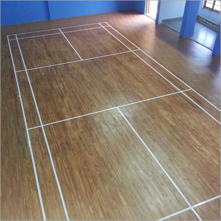 Indoor Badminton Wooden Flooring