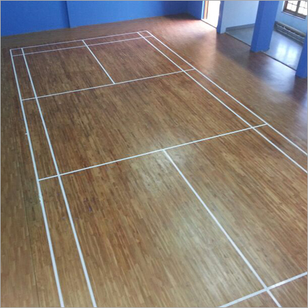 Indoor Badminton Wooden Flooring