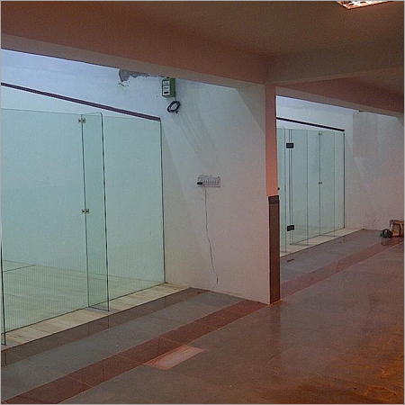 Glass Back Wall