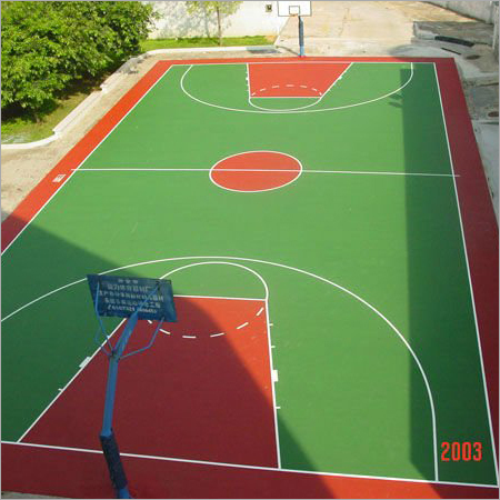 Basketball Court -
