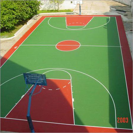 Basketball Court -