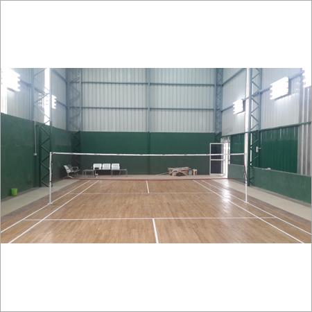 Badminton Court Wooden Floor