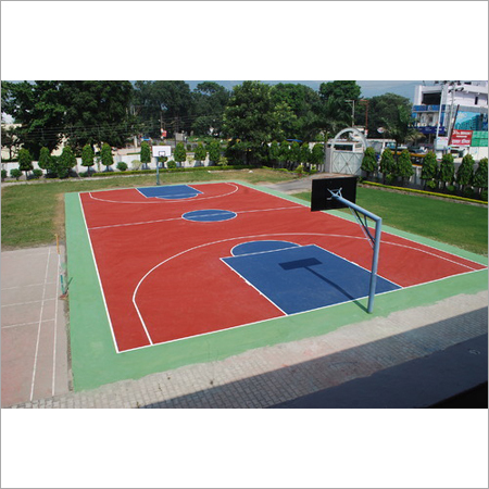 Synthtic Basketball Court