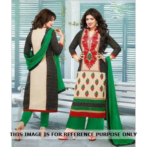 Multicolor New Pure Cambric Cotton Salwar Kameez
