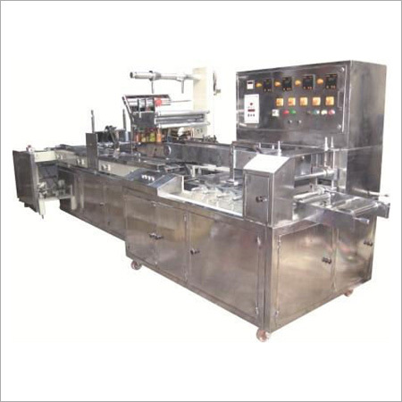 Automatic Feeder Biscuit Packaging Machine