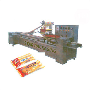 Family Pack fully automatic Rusk Packaging Machine