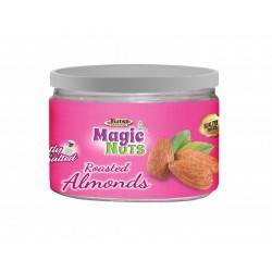Roasted almonds lightly salted can-135g
