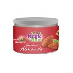 Roasted almonds smoke n jalapeno can-135g