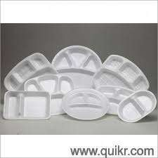 Indias No 1 Thermocole Disposabel Glass Dona Plate