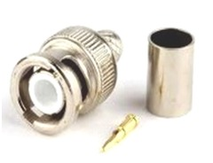 BNC male crimp Connector