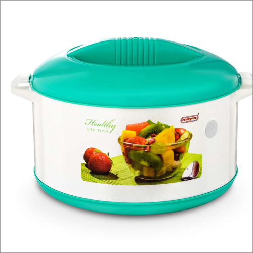 Multicolor Plastic Casserole Hot Pot