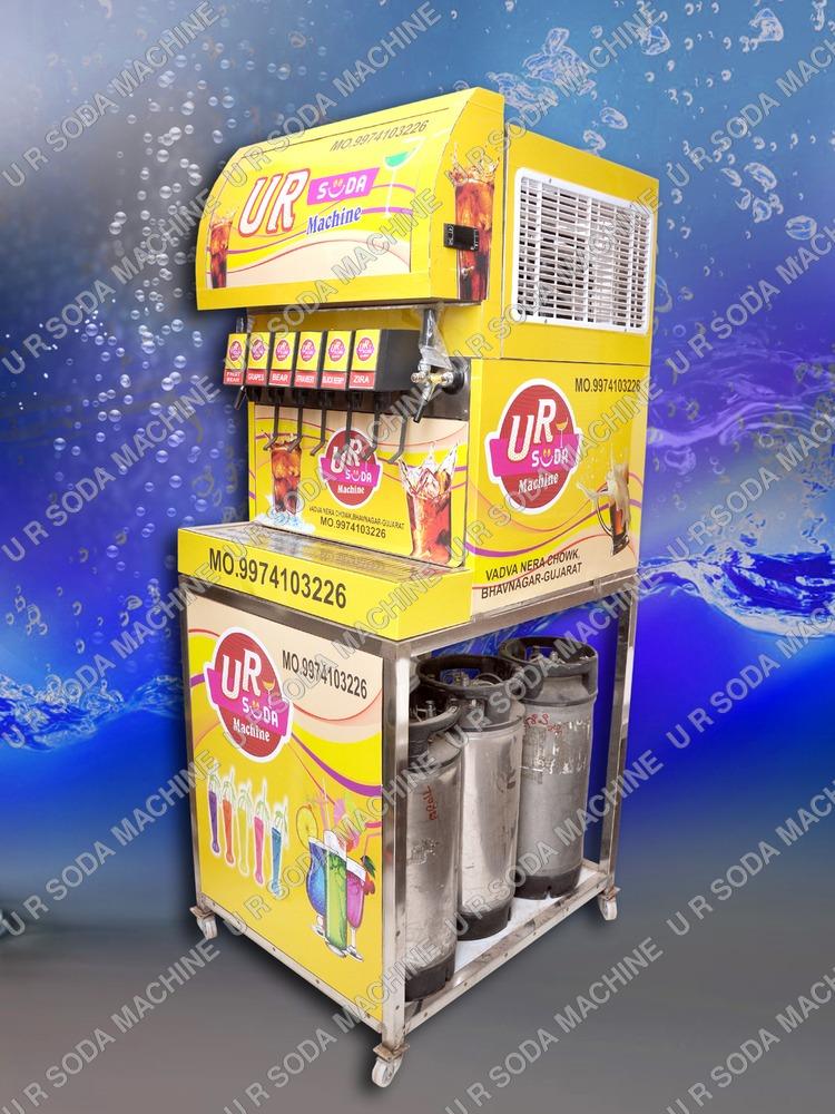 6+2 Soda Vending Machine
