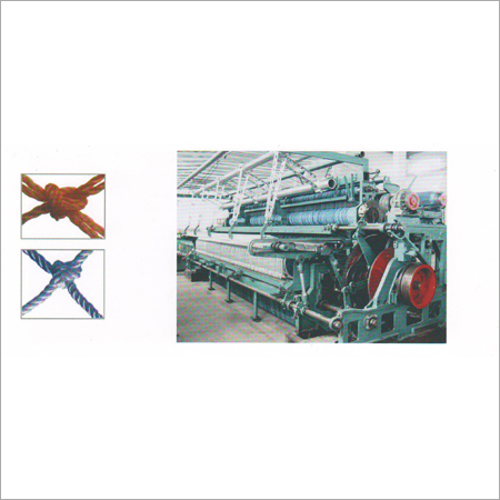 Big Pitch Netting Machine