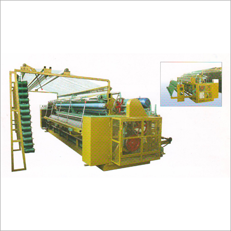 High speed CTL Fishing Net Machine for single, double and U knot