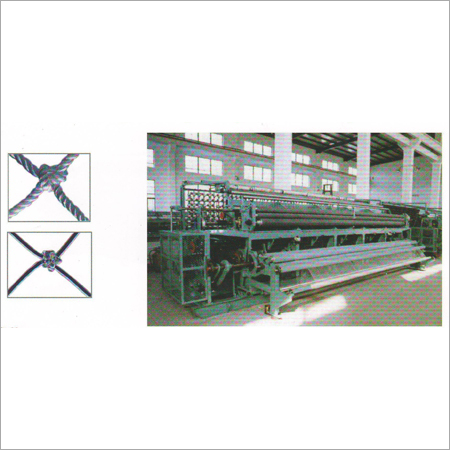 Double Knot Netting Machine