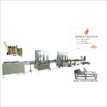 Automatic Aerosol PU Foam Filling Machine