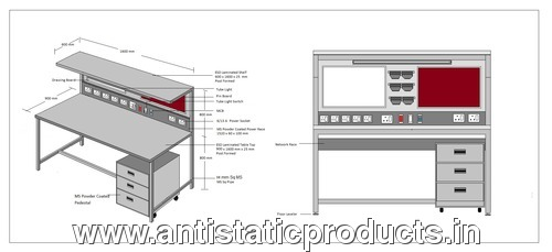 Basic Model ESD Workstation
