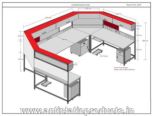 ESD Workstation Drawing