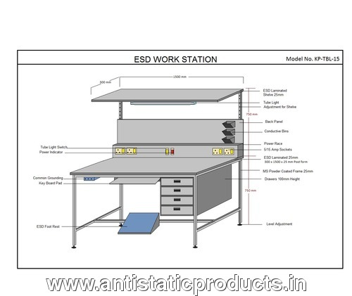 Custmized ESD Workstation