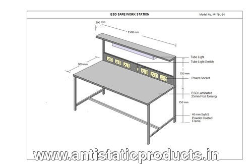 ESD safe Work table
