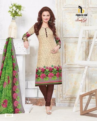 Unstiched Cotton Salwar Kameez Material