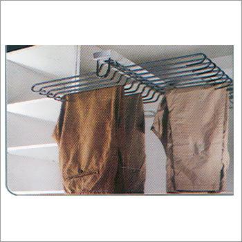 Double Line Trouser Rack (Soft Close)