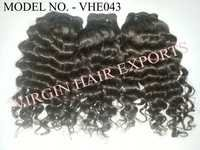 Remy Virgin Curly Hair Extension