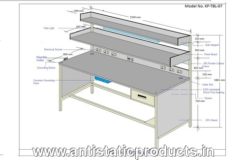 Custome made ESD Workstation