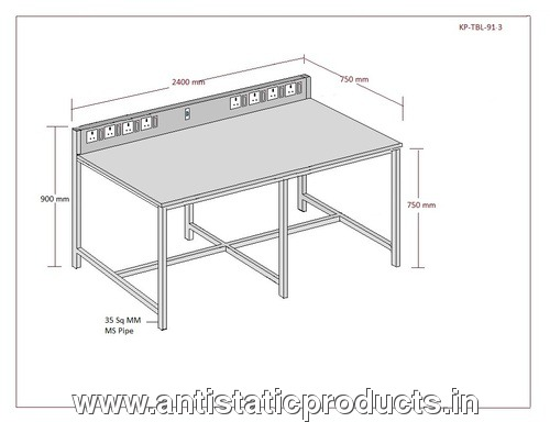 ESD Comfort Work Table