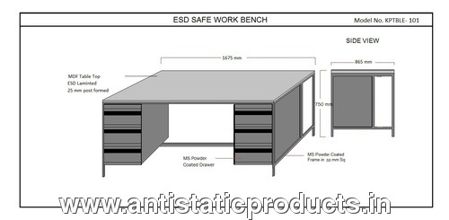 Professional ESD Work Table