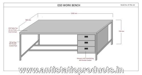 Safe ESD Work Bench