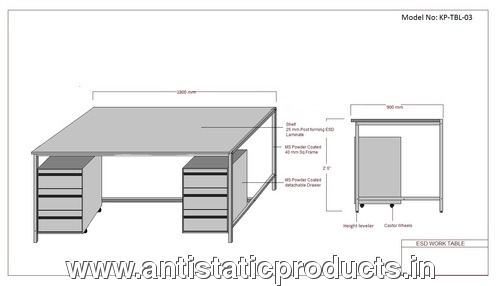 Simple ESD Work Table