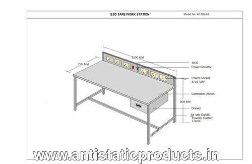 Basic & Simple ESD Work Bench