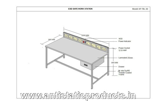 Simple ESD Workstation Bench