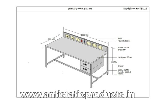 Simple & Basic ESD Working Table