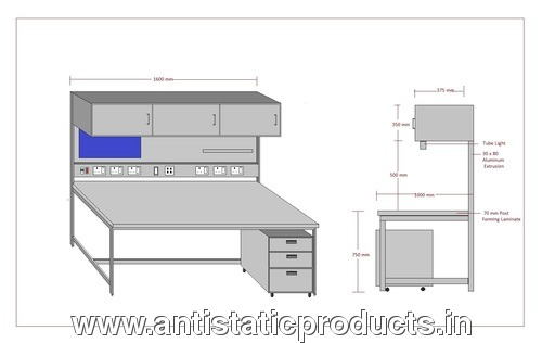 Kinetic Polymers ESD Work Station