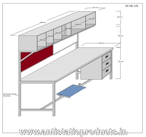 Creative Long ESD Workstation